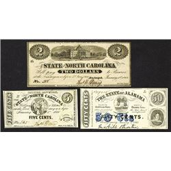 State of North Carolina. 1863 Issue.