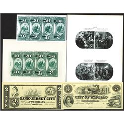 National Bank Note counterfeit detector pages.
