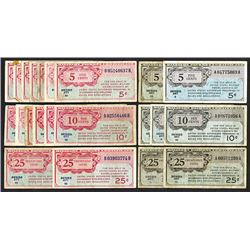 Military Payment Certificates. Series 461, 471.