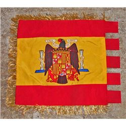 GERMAN NAZI CONDOR LEGION SPANISH CAMPAIGN REGIMENTAL FLAG