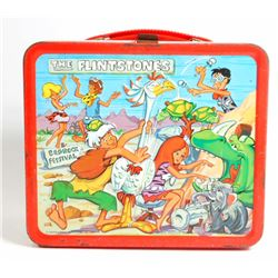 1971 ALADDIN THE FLINTSTONES METAL LUNCHBOX