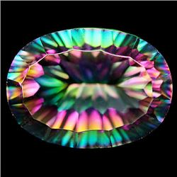 12.79 CT AZOTIC MULTICOLOR MYSTIC AFRICAN QUARTZ