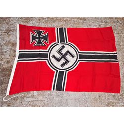 GERMAN NAZI MILITARY COMBAT BATTLE FLAG