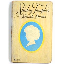 """1926 """"SHIRLEY TEMPLES FAVORITE POEMS"""" HARDCOVER BOOK"""