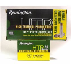 2 Boxes of Remington .357 Mag