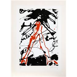 Claes Oldenburg, Striding Figure from Conspiracy: The Artist as Witness Portfolio, Silkscreen