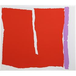 Raymond Parker, Untitled 17, Silkscreen