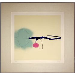 Victor Pasmore, A Lot of Color - Points of Contact No. 38, Screenprint