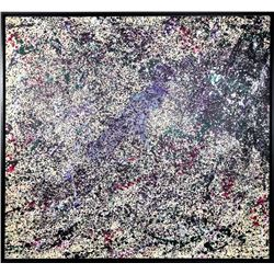 Michel Caro, After Sam Francis: Senza Titolo III, Oil Painting
