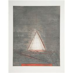 Karl Fred Dahmen, Semiotische Komposition, Aquatint Etching
