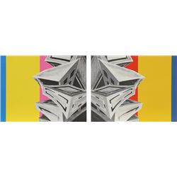 Deborah Kass, Sense and Sensibility, Two Silkscreens (Diptych)