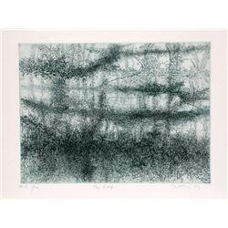 Gabor Peterdi, The Reef, Etching