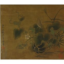 WC Plants & Insects on Paper Yu Sheng1692-1767