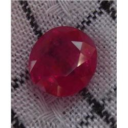 Natural Ruby 3.70 carats - no treatment