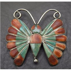 NAVAJO BUTTERFLY PIN/PENDENT