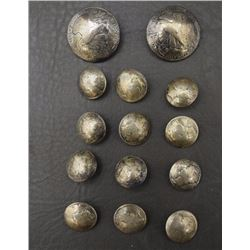 14 NAVAJO BUTTONS