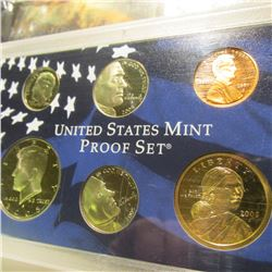 2005 S U.S. Proof Cent, Nickel, Dime, Half-Dollar, & Dollar in U.S. Mint Plastic case.
