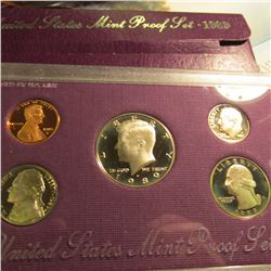 1989 S U.S. Proof Set. Original as issued.