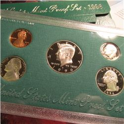 1996 S U.S. Proof Set. Original as issued.