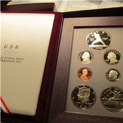 1992 U.S. Silver Prestige Proof Set. Original as issued.