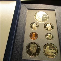 1993 U.S. Silver Prestige Proof Set. Original as issued.