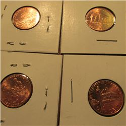 2009 Four-Piece Set of Lincoln Commemorative Cents. BU.