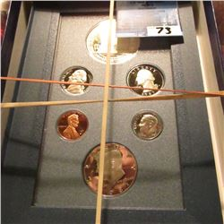 1787-1987 Prestige Proof Set in part of a holder. Includes Proof U.S. Constitution Silver Dollar, Ha