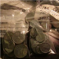 2000-2005 Sacagawea Dollar Set from Littleton Coin Co. (6 pcs.); (11) Various Statehood Quarters; $1
