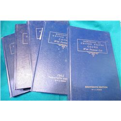"1961 18th Ed., 1963 20th Ed., 1964 21st Ed., 1965 22nd Ed., & 1966 23nd Ed. ""U.S. Blue Books"" or "" """