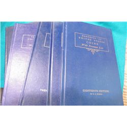 "1961 18th Ed., 1964 21st Ed., 1965 22nd Ed., 1971 28th Ed., & 1979 36th Ed. ""U.S. Blue Books"" or "" """