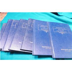 "(2) 1961 18th Ed. & (5) 1964 21st Ed. ""U.S. Blue Books"" or "" ""Handbook of United States Coins with P"