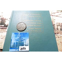 "1856 Province of Nova Scotia Half-Penny Token, VF & 1962 ""Standard Catalogue of Canadian Coins Token"