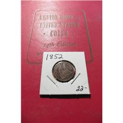 "1961 (14th Edition) ""A Guide Book of United States Coins"", by R.S. Yeoman; & a 1852 Seated Liberty H"