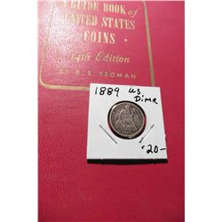 "1961 (14th Edition) ""A Guide Book of United States Coins"", by R.S. Yeoman; & a 1889 Seated Liberty D"