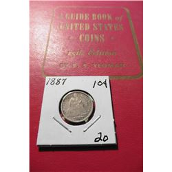 "1962 (15th Edition) ""A Guide Book of United States Coins"", by R.S. Yeoman; & a 1887 Seated Liberty D"