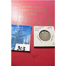 "1964 (17th Edition) ""A Guide Book of United States Coins"", by R.S. Yeoman; & a 1856 Seated Liberty D"