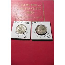"1966 (19th Edition) ""A Guide Book of United States Coins"", by R.S. Yeoman; & a 1942 P & S Silver Wor"