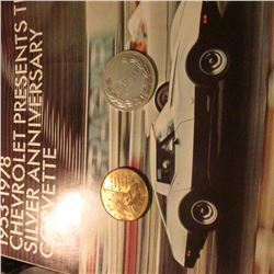 """1953-1978 Chevrolet Presents the Silver Anniversary Corvette"" Brochure; ""General Motors Motorama '5"