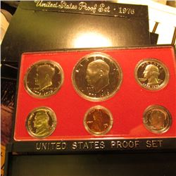 (4) 1976 S U.S. Proof Sets with Eisenhower Dollars. Original as issued.