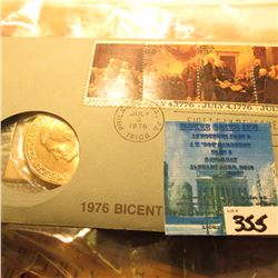 1976 U.S. Mint Bicentennial Medal & 1st Day Cover