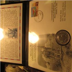 """America's First Commemorative Coin"" Postmarked in the Bahamas in 2003.  1892 Columbian Exposition C"