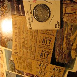 "(4) Different ""See the U.S.A. in a Chevrolet"" Post Cards; World War II Basic Mileage Ration Coupons"
