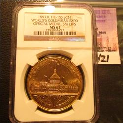 1893 So-Called $ US Columbian Expo {HK-155} NGC 63 #3753994-042