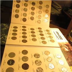 1938-61D Complete Set of Jefferson Nickels, includes 1938S BU, 39P BU, 40S BU, 421P, D, S BU, 42P t.