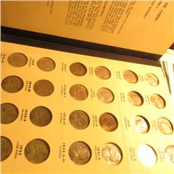 1938-77 Complete Jefferson Nickel Set in a Library of Coins Album. All keys included and many BU.