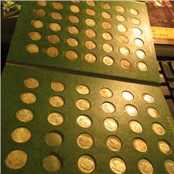 1946-66 Complete Set of Roosevelt Dimes in a Whitman Publishing Co. folder. Many duplicates. Appears