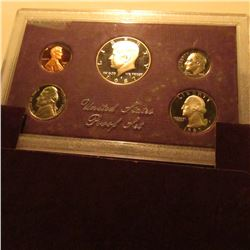 1987 S U.S. Proof Set. Original as issued.