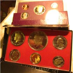 1976 S & 88 S U.S. Proof Sets in original cases as issued. Some minor toning.