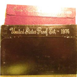 1976 S & 89 S U.S. Proof Sets in original cases as issued. Some minor toning.