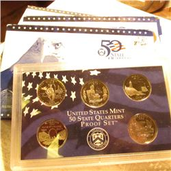 (3) 2003 S U.S. Proof Statehood Quarters Proof Sets. No boxes, in original plastic.